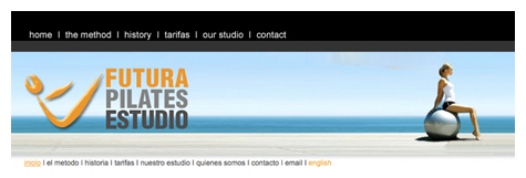 Marbella pulse website design